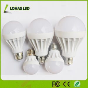 Energy Saving Plastic LED Bulb 3W 5W 7W 9W 12W 15W 18W LED Light Bulb with Ce RoHS China Manufacturer pictures & photos