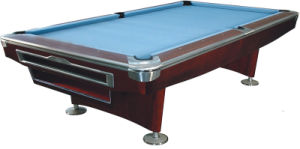 Solid Wood Slate Snooker Table pictures & photos