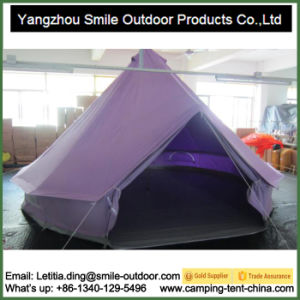 Waterproof Cotton Canvas Bell Outdoor Custom Event Canopy Tent pictures & photos