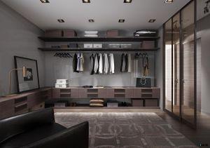 PVC Board Wood Bedroom Closet Cloth Wardrobe pictures & photos