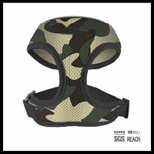 Personalized Cool Camo Print Air Mesh Vest Pet Dog Harness pictures & photos