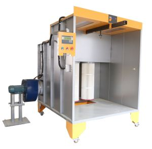 New Manual Rolling Powder Coating Booth pictures & photos