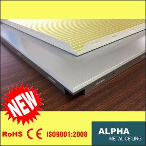 Aluminum Metal Suspended False Decorative Corrugated Composite Clip in Ceiling pictures & photos