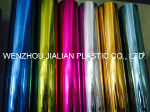 Metalized PVC Colorful Film for Christmas Decoration pictures & photos