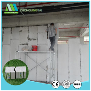 Fireproof Insulation EPS Cement Sandwich Wall Panel pictures & photos