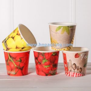 Large Size Food Paper Bucket (YH-L249) pictures & photos