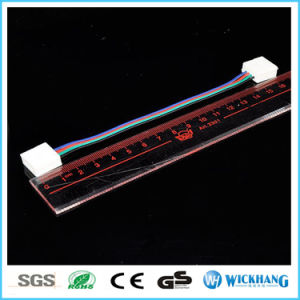 10mm 4 Pin Two Connector with Cable for SMD LED 5050 RGB Waterproof LED Strip Light pictures & photos