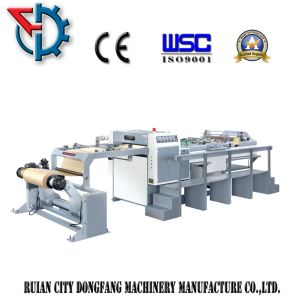 Paper Roll Cut to Sheet Machine Single Blade Rotary pictures & photos