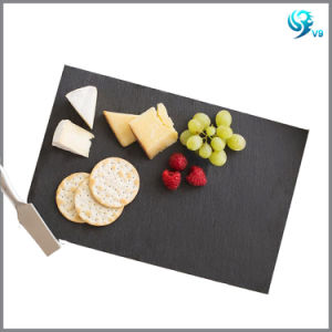 Factory Directly Sale Cheap Square Cheeeboard Slate Platter pictures & photos