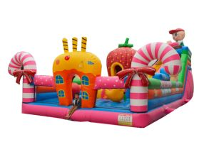 Advertisign Inflatable Big Kids Playground for Fruit Theme pictures & photos