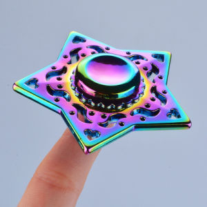 Rainbow Colorful Tri Spinner Fidget Hand Toy Relieving Stress Spinners pictures & photos