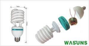 65W Half Spiral Bulb Energy Saving Light pictures & photos