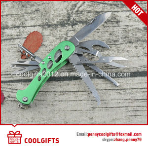 High Quality 9 in 1 Multi Functional Stainless Steel Camping Folding Knife pictures & photos