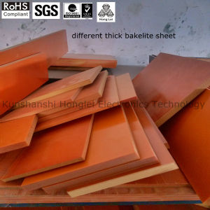 Factory Directly-Sale Pertinax Bakelite Sheet Orang-Red Color for Insulation Parts pictures & photos