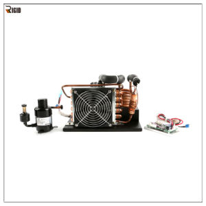 Small Cooling System 12V DC Condensing Unit for Refrigeration and Air Conditioning pictures & photos