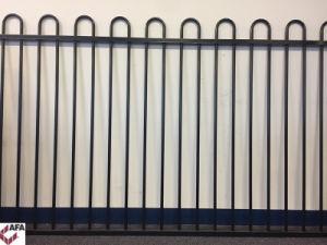 Powder Coated Steel Loop Top Panel Fencing pictures & photos