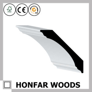 Canada MDF Primed Cornice Crown Moulding for Hotel Building pictures & photos