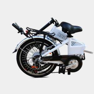 Aluminum Alloy Folding E-Bike with Hidden Lithium Battery pictures & photos