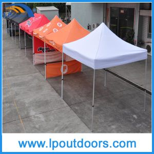 10X10′ White PVC Outdoor Folding Canopy Pop up Tent for Sale pictures & photos