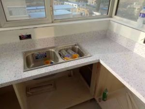 Strong Artificial Quartz Stone for Kitchen and Vanity Top pictures & photos