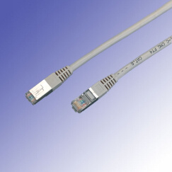 FTP CAT6 1m Plain Molded Boot Patch Cord pictures & photos