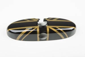 Brand New ABS Plastic UV Protected Sporty Gold Union Jack Style with High Quality Interior Mirror Covers for Mini Cooper R55-R61