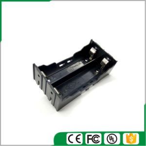 7.4V/2X18650 Battery Holder with Contact Pins pictures & photos