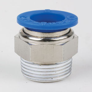Pneumatic Push-in Fittings Male Straight PC