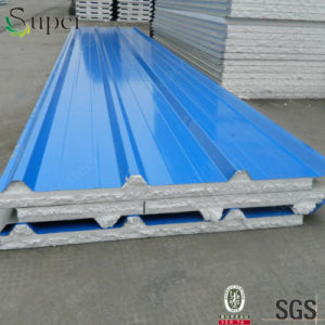 Galvanize Color Steel EPS Sandwich Panel Board pictures & photos