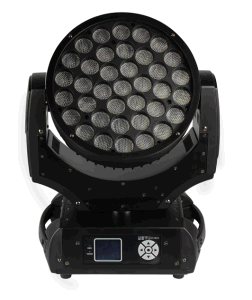 LED Moving Head 37* 10W RGBW 4in1 LED Washing Effect Light with Zoom
