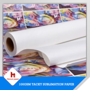 Tacky Transfer Sublimation Transfer Paper Roll for Sportswear