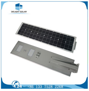 PIR Motion Sensor Night Sensor Lithium Battery All in One LED Solar Street Light pictures & photos
