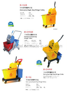 High Quality Mop Wringer with Stainless Steel Handle Deluxe Side Press Wringer pictures & photos