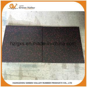 Shock-Reducing Gym Rubber Floor Tiles Rubber Mats pictures & photos