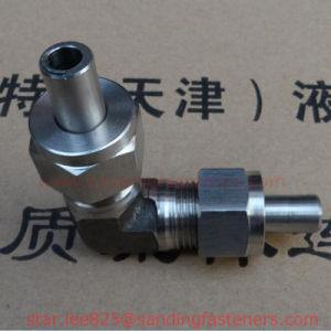 Welded Hydraulic Right Angle Connector pictures & photos