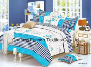 100% Cotton Home Bedding Sets Include Bed Sheet and Quilt pictures & photos