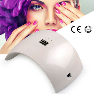 Wholesales LCD 24W Nail Lamp Dryer pictures & photos