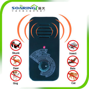 Portable Ultrasonic Pest Control Dog and Cat Repeller pictures & photos