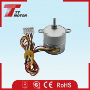 12V DC geared stepper motor for industrial control system pictures & photos