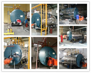 Wns Industrial Steam Boiler Gas 4ton Gas Fired Steam Boiler Oil Field Steam Boiler pictures & photos