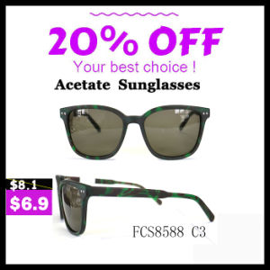 Professional Hand Made Sunglasses with Polarized Lens pictures & photos