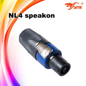 Nl4 Speakon Connector (Male) Audio Accessory Equipment pictures & photos