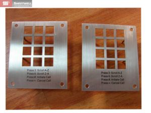 Sheet Metal Alloy Part Products Laser Cut Cutting with Custom Service pictures & photos
