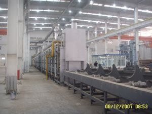 Roller Hearth Hardening and Tempering Heat Treatment Line pictures & photos