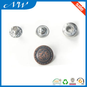 Custom Fashion Metal Snap Button with High Quality pictures & photos