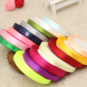 100% Polyester China Solid Color Printed Ribbon Grosgrain Ribbon pictures & photos