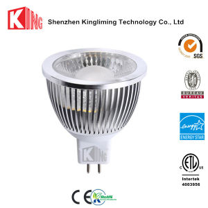Warm White COB 7W LED MR16 Gu5.3 Spot Bulb Light