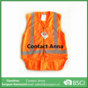 High Visiable Use Roadway Safety Vest ANSI Class 2 pictures & photos