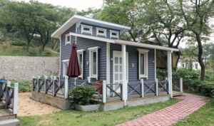 Cafe in Scenic Spot Modular Prefabricated House pictures & photos