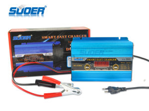 Suoer 12V 20A Full Auto Digital Display Car Battery Charger (DC-1220A) pictures & photos